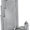 Metal Earth 30 Rockefeller Plaza Metalowy Model Wycinany Laserowo