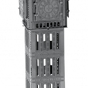 Metal Earth Big Ben Tower  Model 3D Metalowy Laserowo wycinany