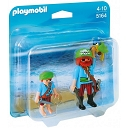 Duo Pack Duży i Mały Pirat 5164 Playmobil
